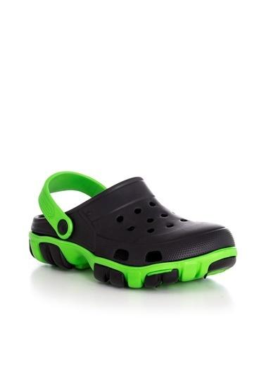 Tonny Black Siyah Yeşil Unısex Aqua Terlik 98006  98006-0_306 Siyah